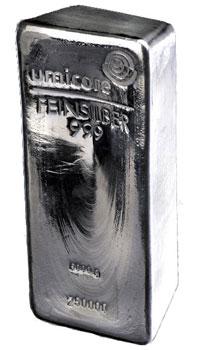 5kg Silver Bar