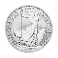 Royal Mint 1oz Silver Britannia Coin