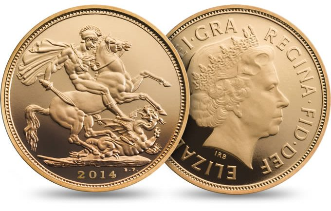 Royal Mint Gold Sovereigns