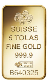 5 Tola Gold Bar